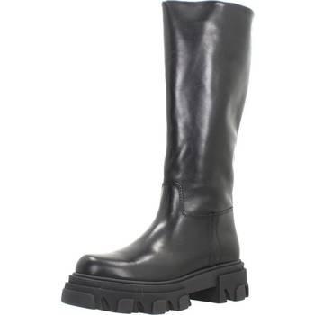 Schoenen Dames Hoge laarzen Alpe 2070 35 Zwart
