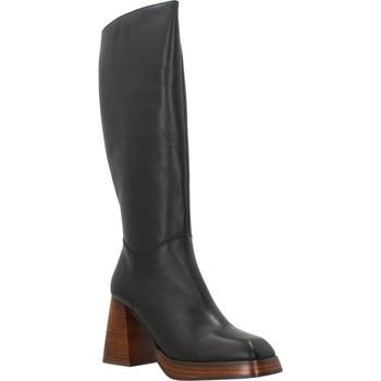 Schoenen Dames Hoge laarzen Angel Alarcon VOLGA Zwart