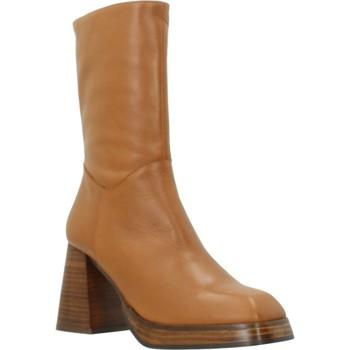 Schoenen Dames Hoge laarzen Angel Alarcon VOLGA Bruin