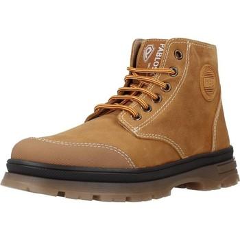 Schoenen Jongens Laarzen Pablosky 503081 Bruin