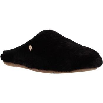 Schoenen Dames Sloffen Hot Potatoes 60903G Zwart