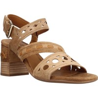 Schoenen Dames Sandalen / Open schoenen Alpe 4412 11 Bruin