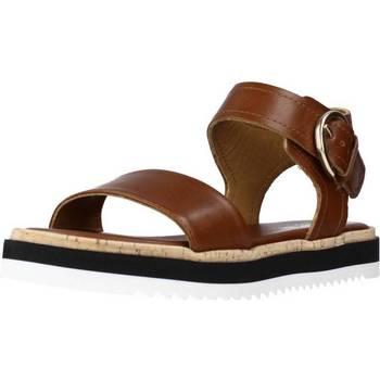 Schoenen Dames Sandalen / Open schoenen Alpe 4595 19 Bruin