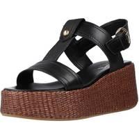 Schoenen Dames Sandalen / Open schoenen Alpe 4673 25 Zwart