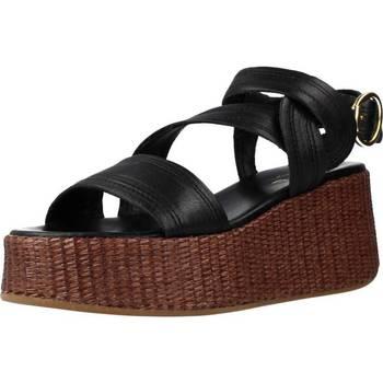 Schoenen Dames Sandalen / Open schoenen Alpe 4674 25 Zwart
