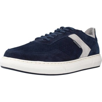 Schoenen Heren Lage sneakers Stonefly RAPID 12 VELOUR Blauw
