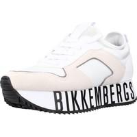 Schoenen Dames Lage sneakers Bikkembergs LATY - LOW TOP LACE UP Wit