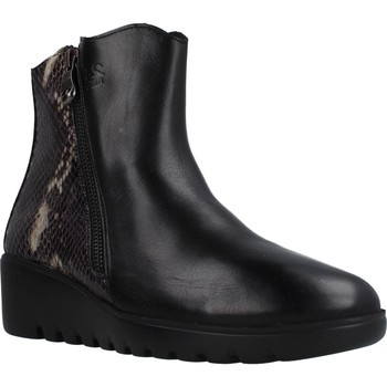 Schoenen Dames Enkellaarzen 24 Hrs 25080 Zwart