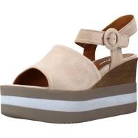 Schoenen Dames Sandalen / Open schoenen Alpe 4750 11 Bruin