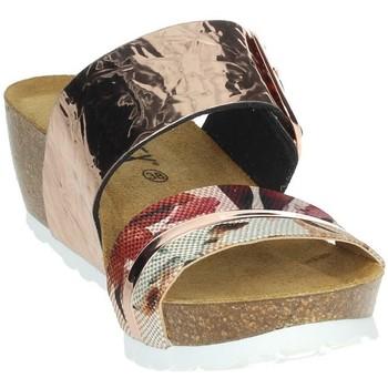 Schoenen Dames Leren slippers Novaflex FERENTINO Rose