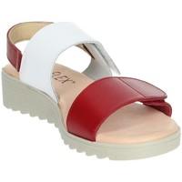 Schoenen Dames Sandalen / Open schoenen Novaflex BASILIANO White/Red