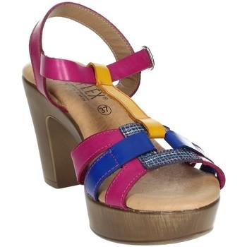 Schoenen Dames Sandalen / Open schoenen Novaflex BASIANO Fuchsia