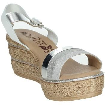 Schoenen Dames Sandalen / Open schoenen Novaflex BARATILI White/Silver