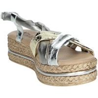 Schoenen Dames Sandalen / Open schoenen Novaflex BARASSO Silver/Gold