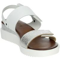 Schoenen Dames Sandalen / Open schoenen Novaflex BAIANO White/Silver