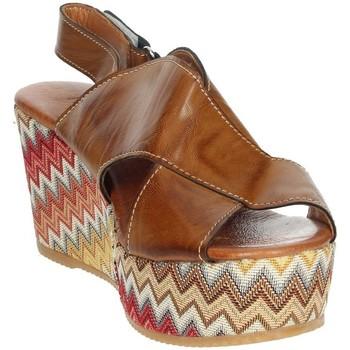 Schoenen Dames Sandalen / Open schoenen Novaflex AZEGLIO Brown leather