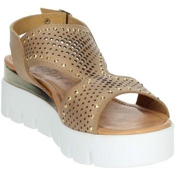 Schoenen Dames Sandalen / Open schoenen Novaflex AGRATE Brown leather