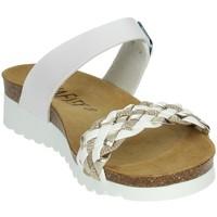 Schoenen Dames Sandalen / Open schoenen Novaflex FELIZZANO White/Gold