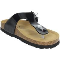 Schoenen Dames Slippers Novaflex FEISOGLIO Black