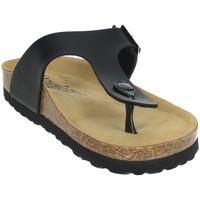 Schoenen Dames Slippers Novaflex FAVRIA Black