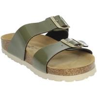 Schoenen Dames Slippers Novaflex FAULE Dark Green