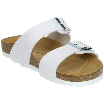 Schoenen Dames Slippers Novaflex FAUGLIA White