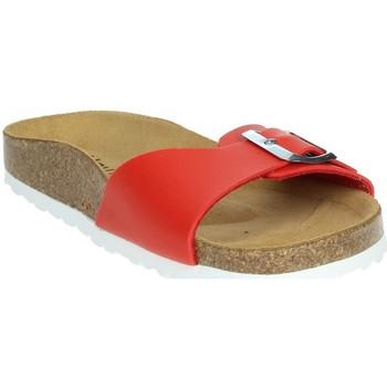 Schoenen Dames Leren slippers Novaflex FASANO Red