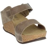 Schoenen Dames Leren slippers Novaflex ANNICCO Beige
