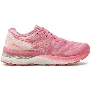 Schoenen Dames Lage sneakers Asics Gel Nimbus 23 Rose