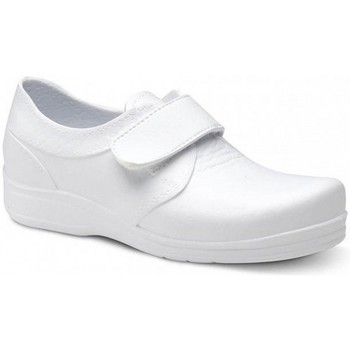 Schoenen Heren Lage sneakers Feliz Caminar ZAPATO SANITARIO VELCRO UNISEX FLOTANTES VELCRO Wit