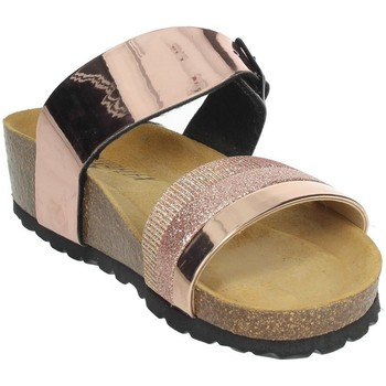 Schoenen Dames Leren slippers Novaflex BISACCIA Light dusty pink
