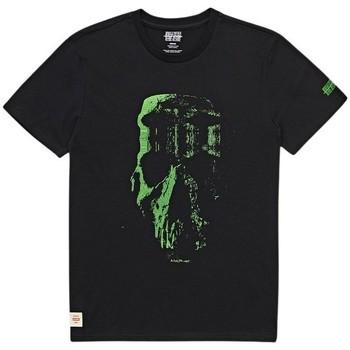 Textiel Heren T-shirts korte mouwen Globe T-shirt  Refuse Skull noir