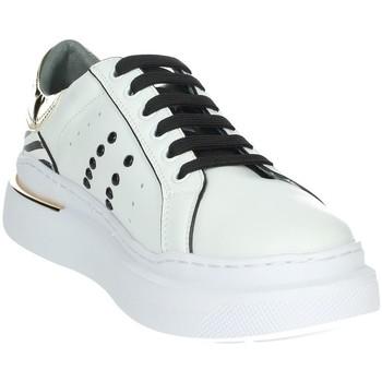 Schoenen Dames Lage sneakers Keys K-5580 White/Gold