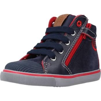 Schoenen Jongens Laarzen Geox B KILWI BOY Blauw