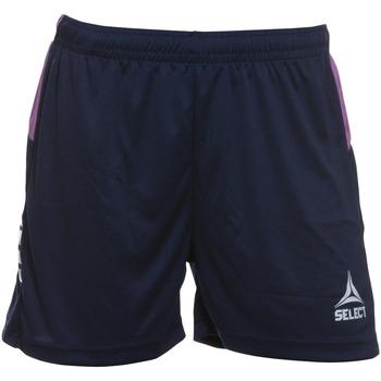 Textiel Dames Korte broeken / Bermuda's Select Short femme  Player Comet bleu navy
