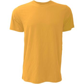 Textiel Heren T-shirts korte mouwen Bella + Canvas CA3001 Mustard