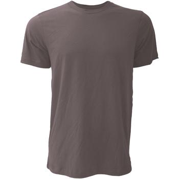 Textiel Heren T-shirts korte mouwen Bella + Canvas CA3001 Asphalt