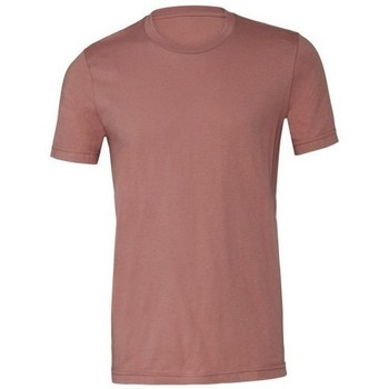 Textiel Heren T-shirts korte mouwen Bella + Canvas CA3001 Mauve