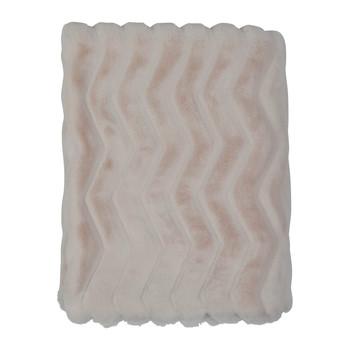 Wonen Plaids, deken Côté Table REFUGE Ivory
