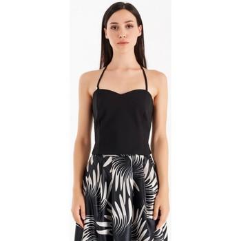 Textiel Dames Tops / Blousjes Rinascimento CFC0105101003 Noir