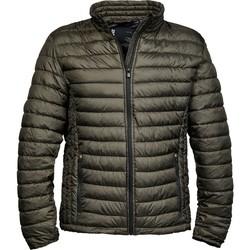 Textiel Heren Dons gevoerde jassen Tee Jays TJ9630 Donkere Olijf
