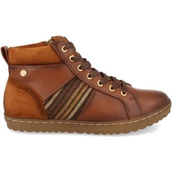 Schoenen Dames Hoge sneakers Clowse VR1-372 Cuero