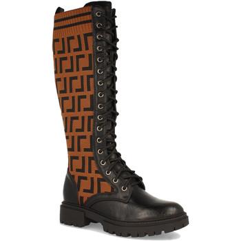 Schoenen Dames Hoge laarzen Ainy 1939A Camel