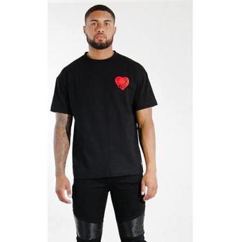 Textiel Heren T-shirts korte mouwen Sixth June T-shirt  Oversize noir