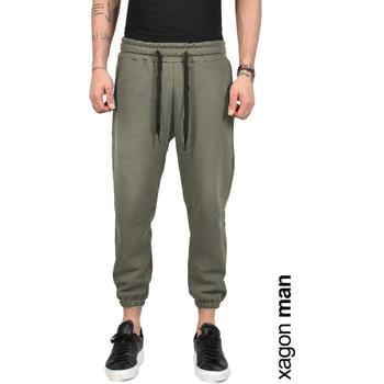 Textiel Heren Broeken / Pantalons Xagon Man  Groen