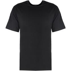 Textiel Heren T-shirts korte mouwen Xagon Man  Zwart