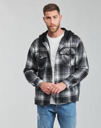 Textiel Heren Wind jackets Yurban  Zwart / Grijs