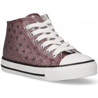 Schoenen Meisjes Hoge sneakers Bubble 58907 roze