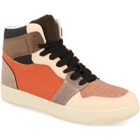 Schoenen Dames Hoge sneakers Buonarotti 2CD-1421 Naranja