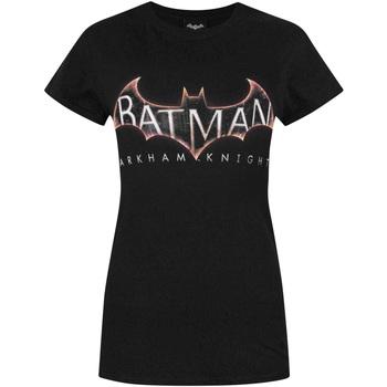 Textiel Dames T-shirts korte mouwen Dessins Animés  Zwart